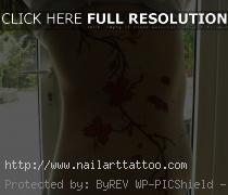 cherry blossoms tattoo designs