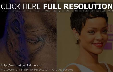 chris brown and rihanna tattoos